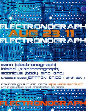 Electronograph flier